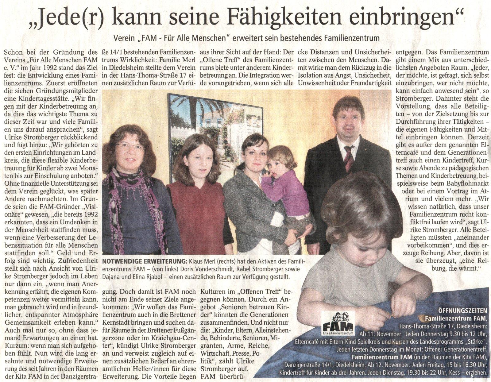 Brettener Nachrichten (BNN) - Oktober 2010