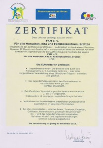 Jugendschutzzertifikat Landkreis Karlsruhe
